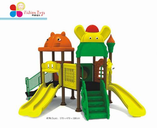 幼儿园的滑滑梯,小区游乐场滑梯-上海怡健游乐  大象滑梯-儿童滑梯 结